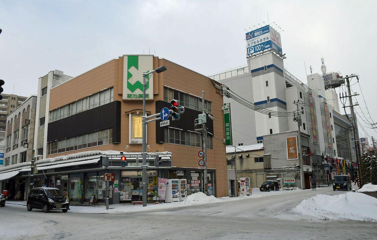 弘前市土手町再開発