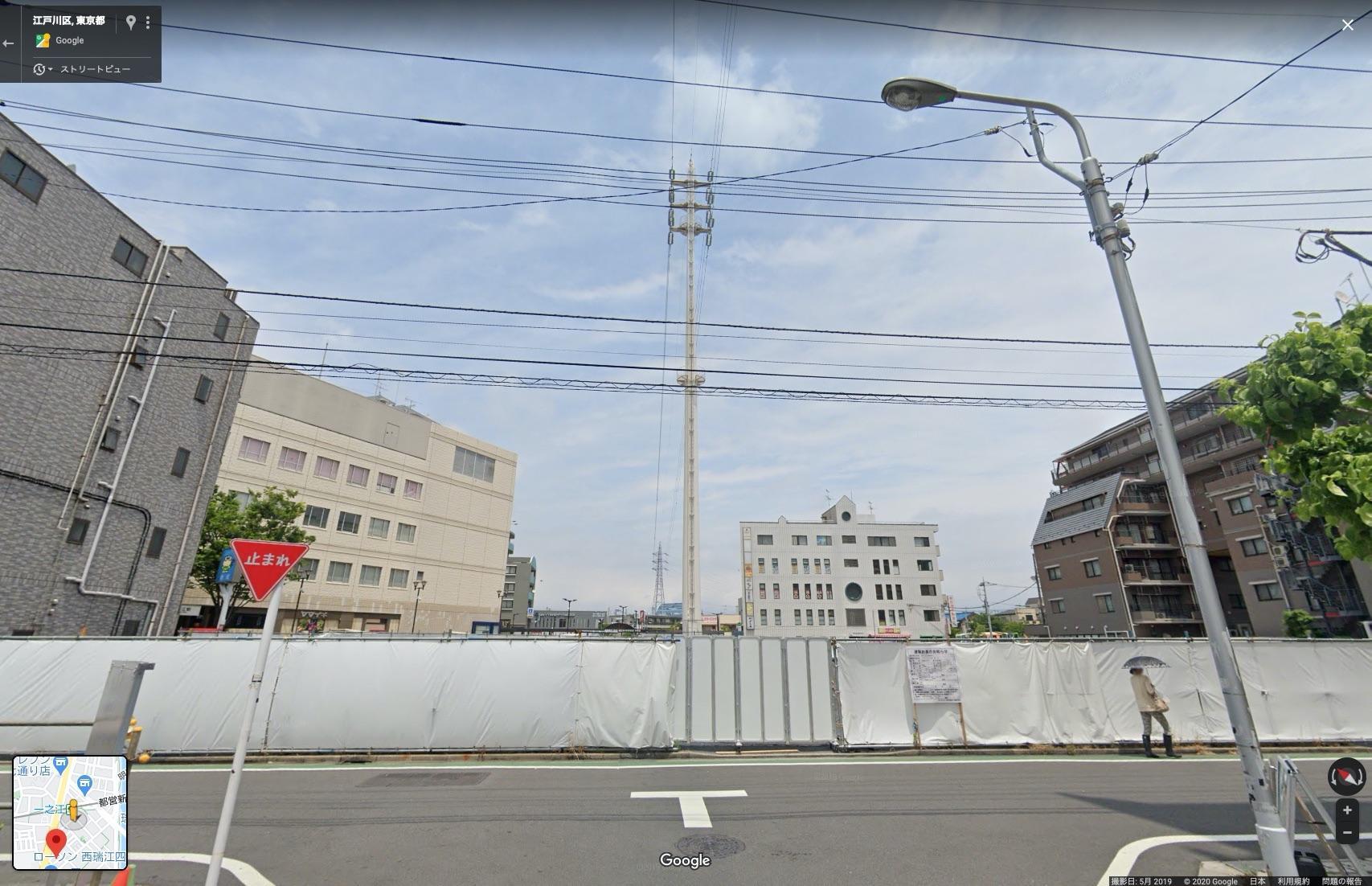 一之江駅前商業施設の画像