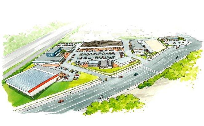 神戸市須磨区高倉台再開発計画
